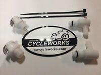 """Ducati MV Quick Release 5/16"""" plastic fuel connector kit 748 916 996 998 MH900e"""
