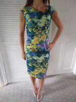 Linea Size 8 Green Wiggle Dress
