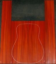 Padauk acoustic guitar back and Side set Luthier Tonewood