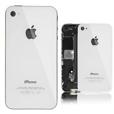 White Replacement iPhone 4S Battery Cover Back Door Rear Glass A1387 CDMA GSM