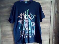 More details for nile - black seeds of vengeance t shirt new black l official death metal