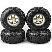 4X Tires&Wheel Rims 130mm Climbing Crawler For RC 1/10 Bigfoot Monster Truck