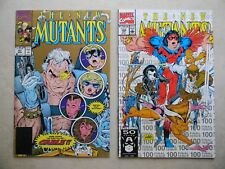 The New Mutants #87 100 (1990, Marvel) 2nd/3rd PRINT 1st Cable & X-Force LIEFELD