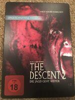 The Descent 2 STEELBOOK Dvd
