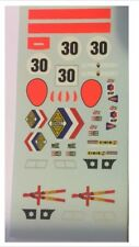 DECALS KIT 1/43 ALPINE RENAULT A220 LE MANS 1969 N.30