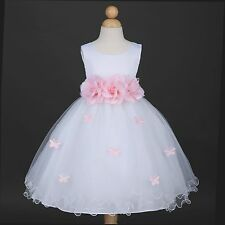 White Halloween Baby Infant Toddler Princess Party Girl Dress - Many Colors