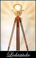 Tripod Aero Holz - Stativ - Lampe - Leuchte - Scheinwerfer - incl. LED - Bauhaus