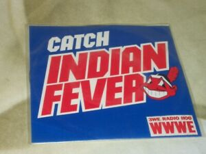 Catch Indians Fever Promo Record Cleveland Indians 1980 Peaches Record & Tapes**