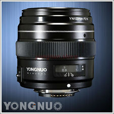YONGNUO 100mm F2 Medium Telephoto Prime AUTO FOCUS Lens Large Aperture for Nikon