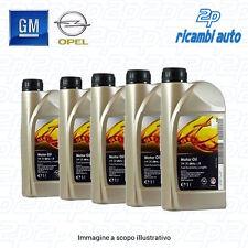 ..5 LITRI OLIO ORIGINALE GM OPEL DEXOS2 5w30 Acea C3 API SN/CF OFFERTA 5W-30
