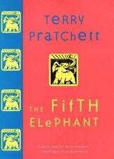 Discworld: The Fifth Elephant by Terry Pratchett HB DJ 1st Ed Like New