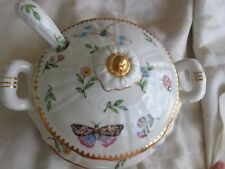 PRIMAVERA by GODINGER INSECT LADY BUG PORCELAIN SAUCE BOAT UNDERPLATE LADLE SET