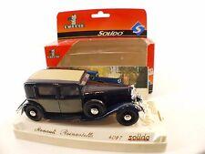 Solido n° 4097 Renault Reinastella 1934 1/43 neuf en boîte