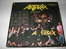 "ANTHRAX MAXI VINYL 12"" GERMANY MADHOUSE"