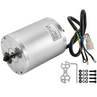 Electric Brushless Motor 72V DC 3000W Electric Bike Motor 4900 RPM for E-Bikes