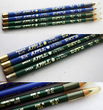 2X RARE VINTAGE 80'S APPLE KOHL EYE PENCIL PACIFIC BLUE & GREEN MADE IN USA NEW!