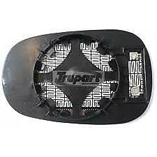 TRUPART MG712 RH HEATED MIRROR GLASS FOR MEGANE 96 ON CLIO 98 ON