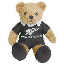 22cm New Zealand All Blacks Rugby Cute Beanie Bear Stuffed Animal Plush Toy