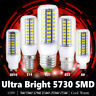 E27 E14 E12 B22 GU10 G9 7/9/12/15/20/25W AC 110V 5730 LED Corn Bulb Lamps Lights