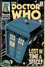 FP3470 DOCTOR WHO Tardis Comic   Maxi Poster 61cm x 91.5cm