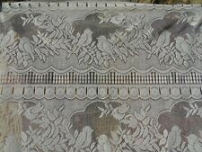 French lace motif bird a pair of white curtain 24.5'' x 30'' of each