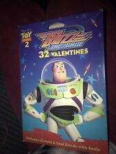 2000 Toy Story 2 Valentines 32 Fold & Seal New Old Stock In Box