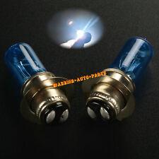 For Kawasaki KLF400 Bayou 1993 1994 1998 1999 White Xenon Headlight Bulbs 35W x2