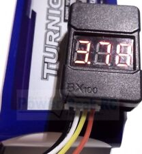 LiPo Low Voltage Alarm & Voltage Checker Tester - Adjustable Voltage fit Turnigy