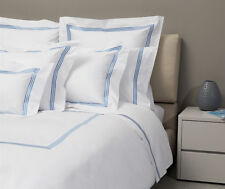 Signoria Firenze Platinum King Duvet Cover - White/Plum
