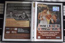 DVD -  ANCHE I BANCHIERI HANNO UN'ANIMA - TEATRO - BRAMIERI GARINEI GIOVANNINI