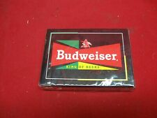 Budweiser King Of Beers Poker Playing Cards - Unopened - Still Sealed