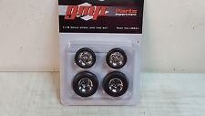 1:18 GMP CHROMED HOT ROD WHEELS AND TIRE PACK - 18841 - BEST SHIPPING PRICES!!