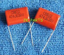 20PCS CBB 474J 630V 0.47uF 470nF P=20MM Metallized Film Capacitor