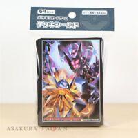 Pokemon Center Original Card Game Sleeve Ultra Sun Moon 64 sleeves Japan