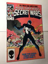 Marvel Super Heroes Secret Wars #8 VF/VF+ 1st App Black Symbiote Spiderman