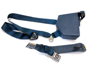NOS 85-89 Chevrolet - GMC Suburban Etc Blue Front Seat Belt 15583509