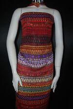Rayon Crepon woven fabric natural fiber rayon 100% plant based ethnic print