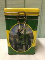 Licensed JOHN DEERE Tin Canister by The Tin Box Company