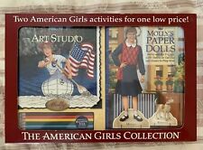 The American Girls Collection Molly's Art Studio & Paper Dolls Activity Books