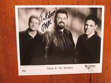 "OMAR  KENT  DYKES(""Omar & The Howlers"")Signed 10 x 8 Glossy  Black & White Photo"