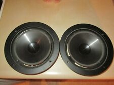 """A Pair of Infinity 902-6774 8"""" Woofers Kappa 5.1 needs re-foamed #1"""