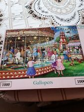 *HOUSE OF PUZZLES HOP: Gallopers - 1000 Piece Complete Jigsaw Puzzle*