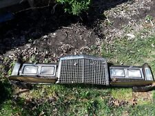 1985 1986 1987 1988 1989 Lincoln Town Car Header Panel with Grill grille a