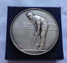 Vintage Sport Medal Cricket John Pinches