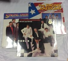 The Singing Americans 3 Vinyl Lot. New/Sealed. Southern Gospel Riversong