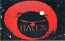 RAVEN Rave Flyer Flyers 21/11/91 A6 Gass Club London W1