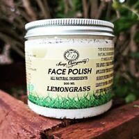 Natural  Face Polish Exfoliator Scrub 100% Homemade face peel 200g