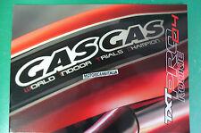 GAS GAS TXT  80 125  249 280 04 ROOKIE  PRO CATALOGO DEPLIANT BROCHURE RECLAME