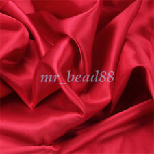 Silky Satin Fabric Plain Luxury Dress DIY Material 150cm Wide, sold by Metre New