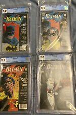 Batman 426-429 A Death In The Family CGC